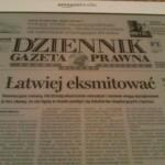 Dziennik Gazeta Prawna na Kindle DX