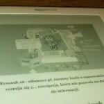 ekran Kindle DX idealnie dopasowany do PDF A4