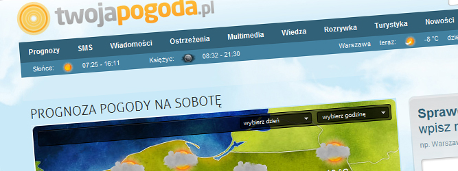 Myślę, że przykujemy uwagę internautów czymś, czego jeszcze nie widzieli – Łukasz Mielczarek, TwojaPogoda.pl