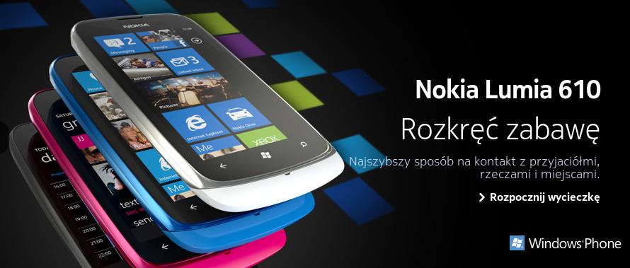 Nokia prezentuje nowy smartfon z linii Lumia – 610