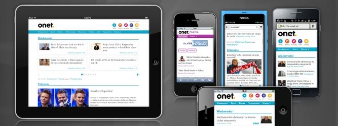 Onet o krok przed konkurencją – wprowadza nowe, ładniejsze produkty mobilne