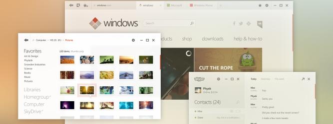 Gdyby Windows tak wyglądał…