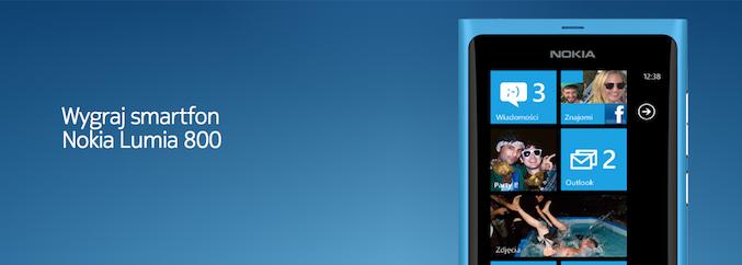 Nie tylko u nas możesz wygrać Nokię Lumia 800