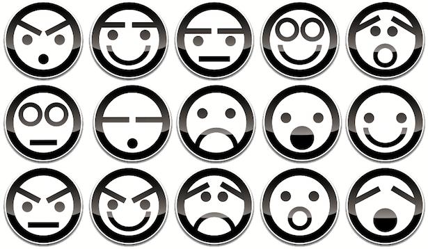 Pozwani za wyskakujące menu wprowadzania emotikon