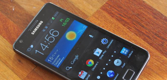 Mało Androida 4.0 na Androidzie 4.0 w Samsungu Galaxy SII