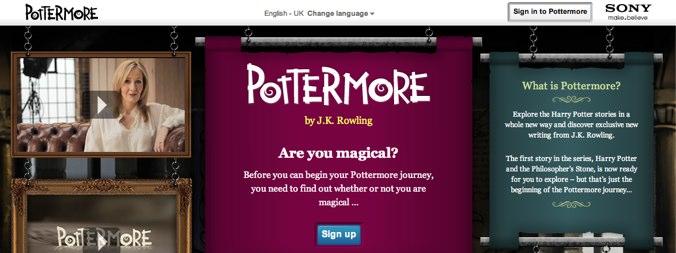 Pottermore wyszedł z bety. Czy takiego serwisu oczekiwali fani Harry'ego Pottera?