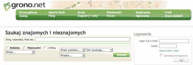 Upadłe legendy polskiego internetu: Grono.net