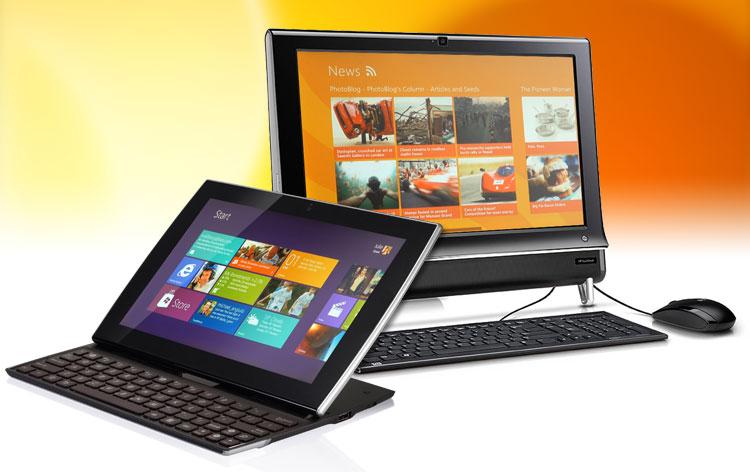 Granica między tabletem a komputerem PC zaczyna powoli się zacierać