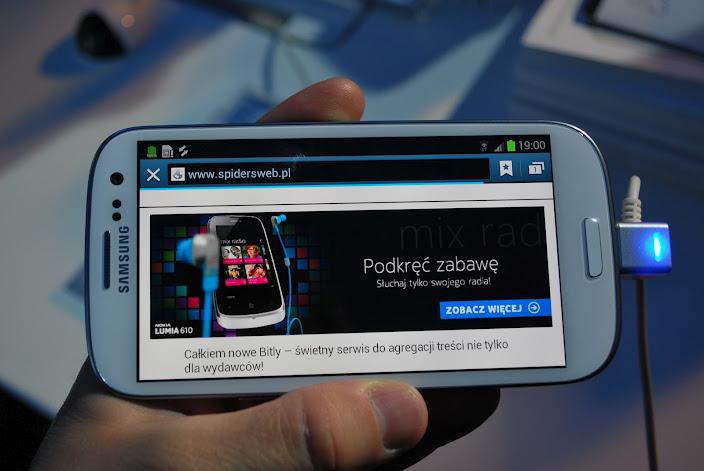 Polska premiera Samsunga Galaxy SIII – nasza (foto) relacja