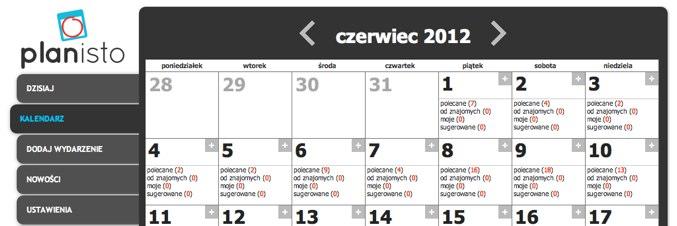 Planisto – pierwszy polski planer w App Center Facebooka