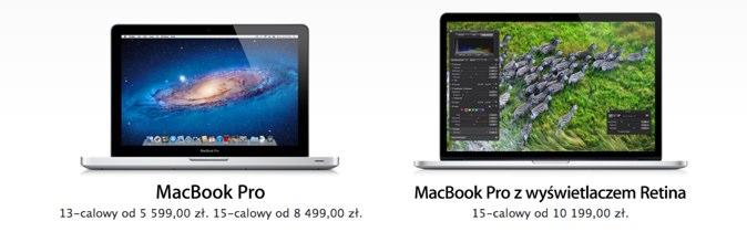 Polskie ceny nowego MacBooka Pro są porażające – od 10,199 zł do 17,369  zł