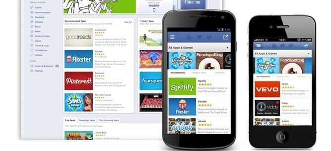 Facebook App Center to dowód na to, że Facebook jest wielką platformą