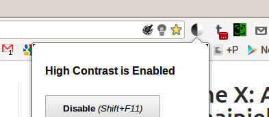 High Contrast – przydatne rozszerzenie do Chrome, które zmienia odbiór sieci