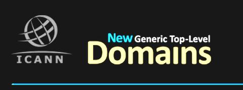 Najciekawsze wnioski o sufiksy. Google i Amazon chcą te same domeny!