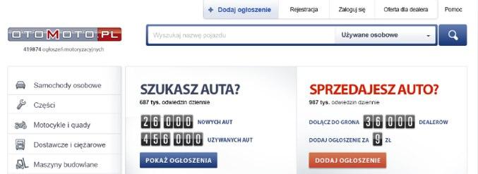 OtoMoto.pl się zmienia. Zdecydowanie na lepsze