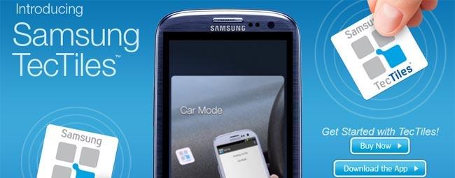 Samsungowi spodobały się inteligentne tagi NFC