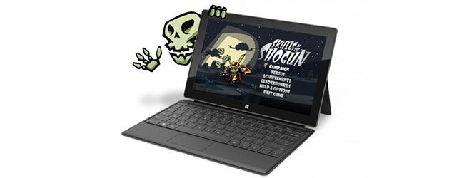 Tablet Surface to również konsola Xbox w wersji mobilnej