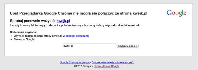 Poważna awaria – Wykop i Kwejk nie działają. NaTemat, Money.pl, PayU i inne też