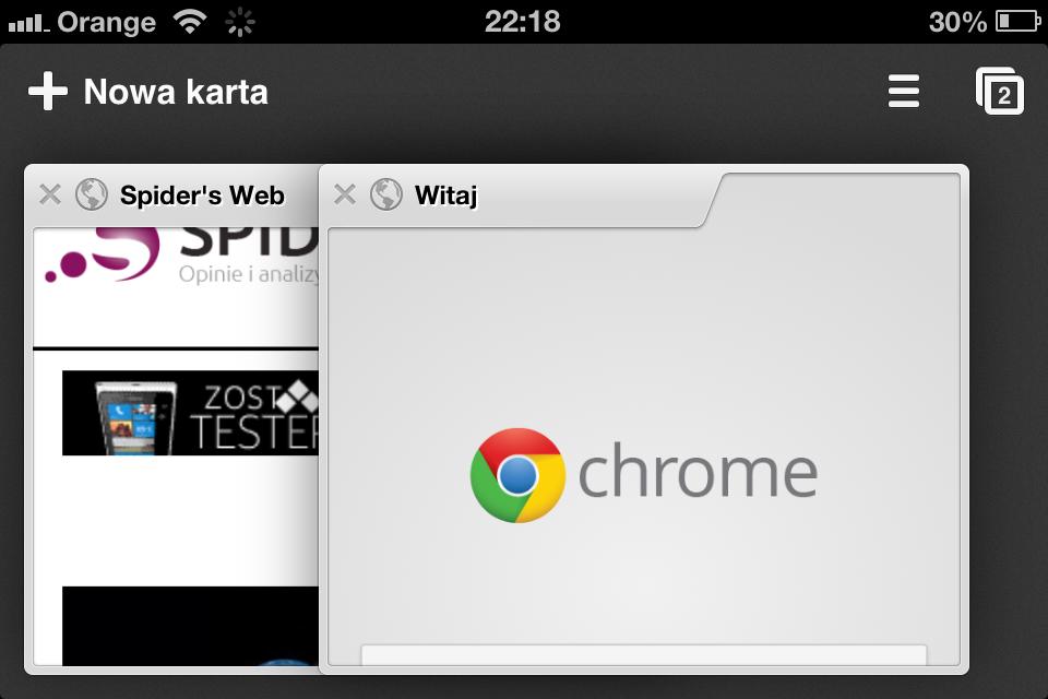 Chrome na iOS już dostępny!