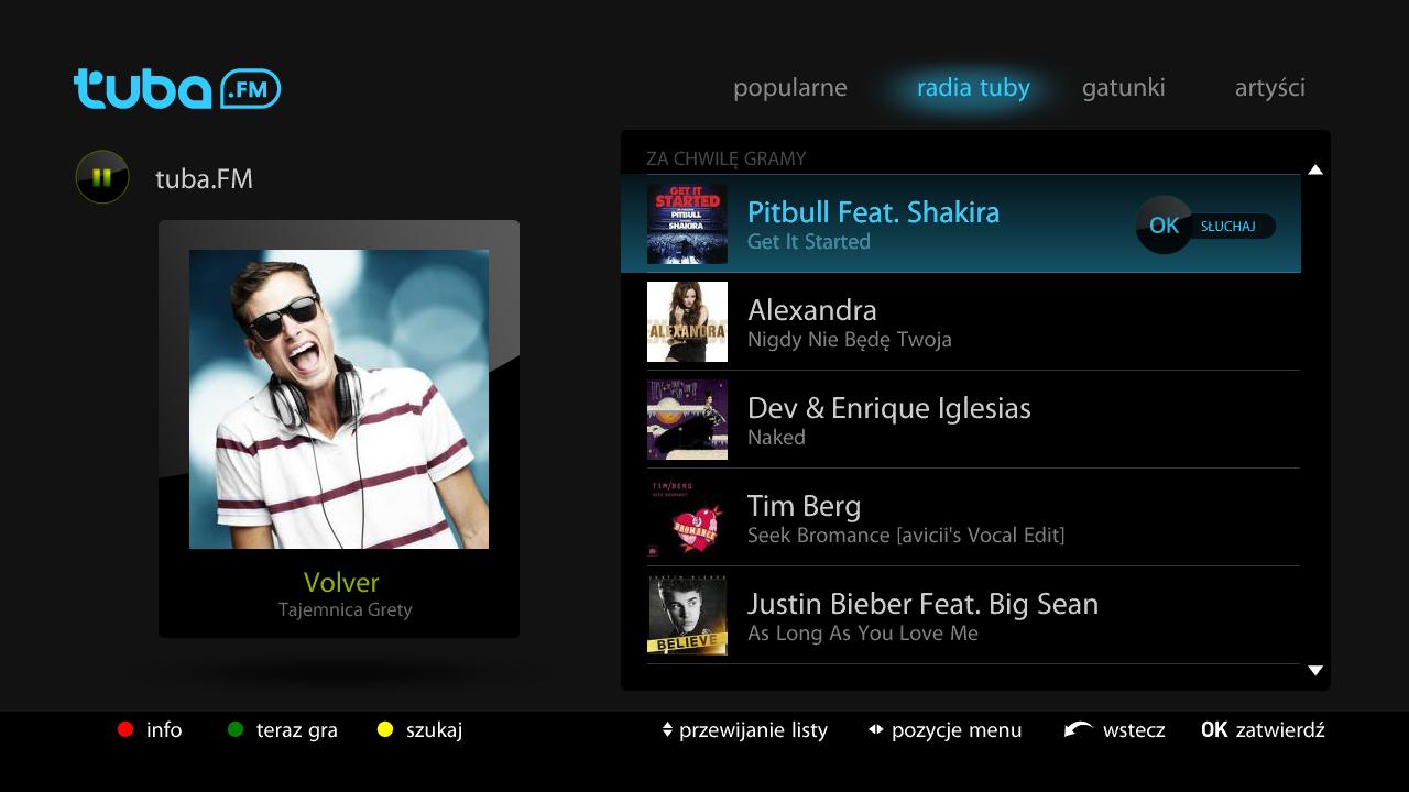 Słuchaj ulubionej muzyki na Netia Playerze dzięki aplikacji Tuba.FM