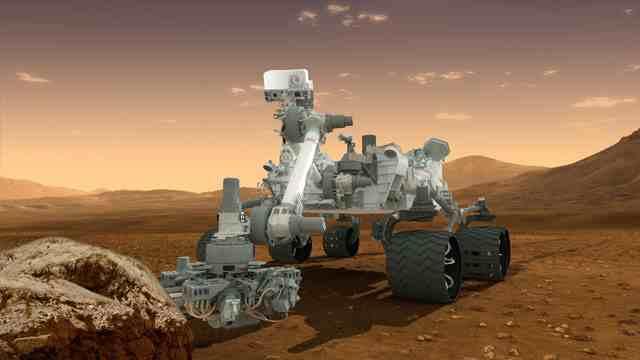 Sensacja! Na Marsie znaleziono skałę!