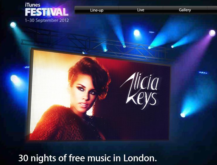 iTunes Festival 2012 czyli koncertowy wrzesień dzięki Apple