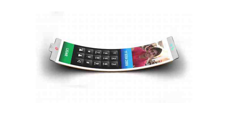 Koncepcyjny smartfon Philips Fluid – czy to jeszcze telefon, czy już biżuteria?