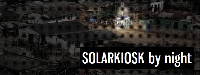SOLARKIOSK – kiosk, który będzie dostarczał energie elektryczną do najbiedniejszych regionów świata
