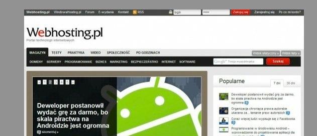 Home.pl zawiesił działalność Webhosting.pl