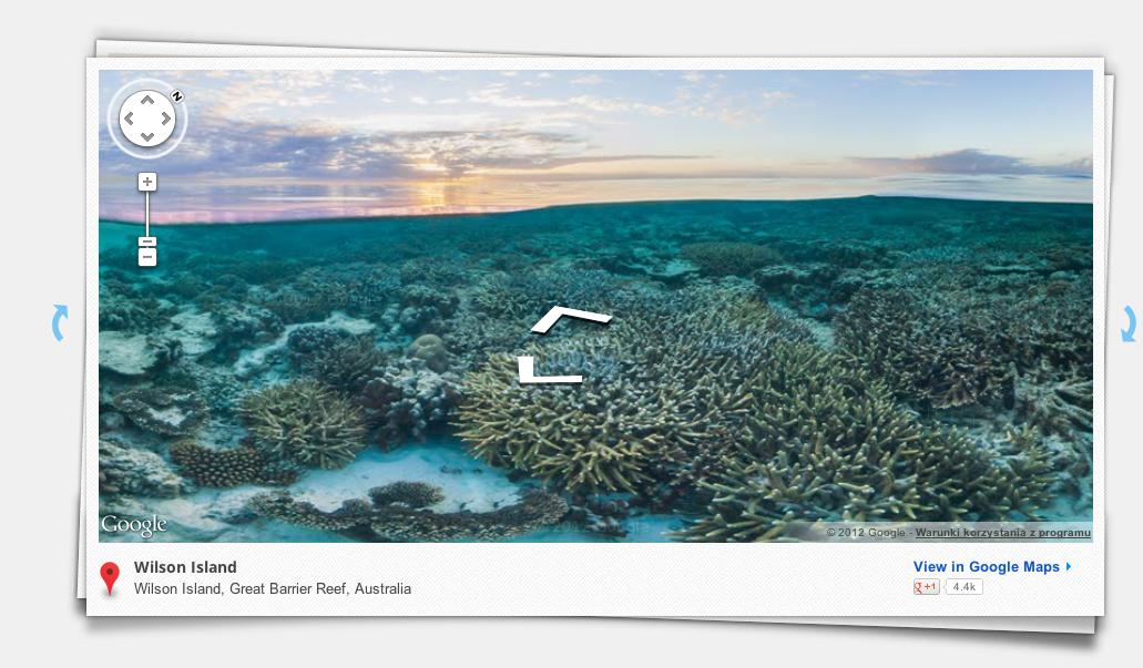 Zanurkuj na Wielkiej Rafie Koralowej z Google