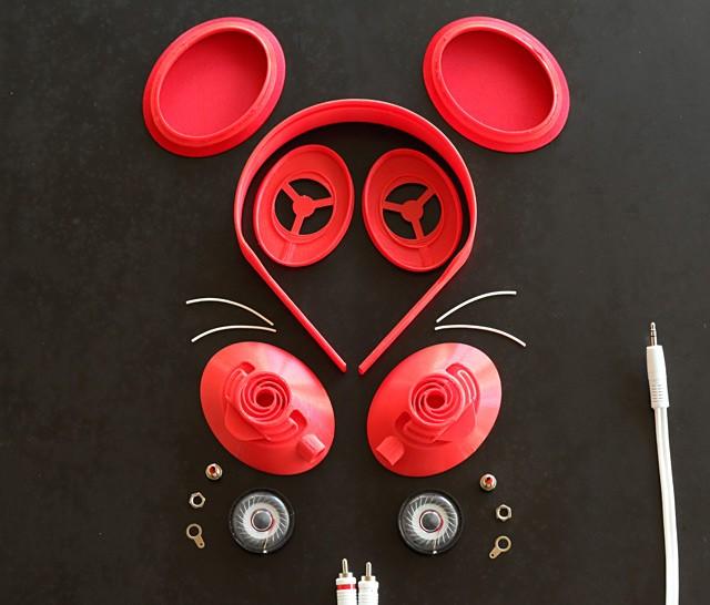 Słuchawki wydrukowane na drukarce 3d