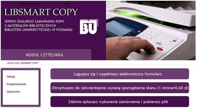 Studencie, potrzebujesz materiałów z Biblioteki Uniwersyteckiej? Ta wyśle potrzebne Ci skany