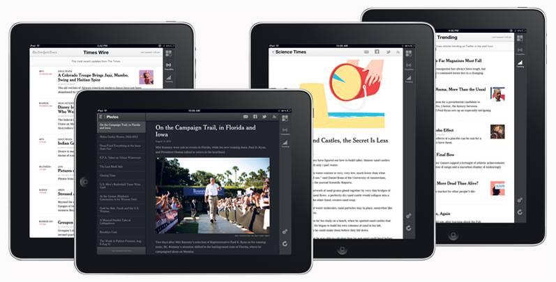 New York Times w HTML5, by uniknąć haraczu Apple