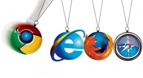 Internet Explorer ciągle na topie, Firefox wyżej niż Chrome