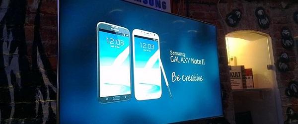 Samsung Galaxy Note II – wrażenia z premiery