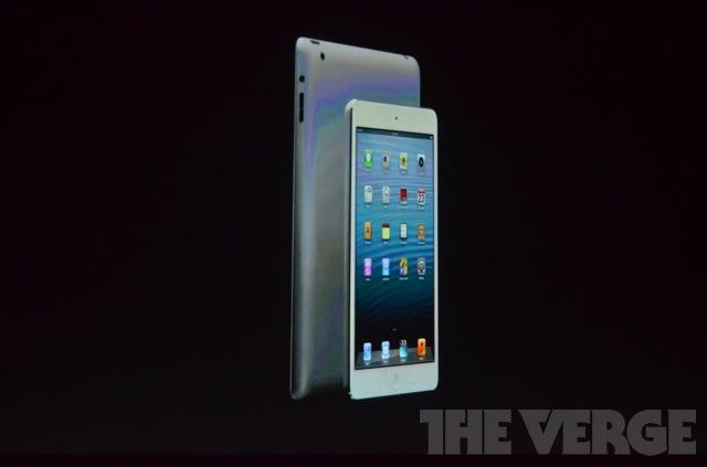 Jednak jest iPad mini! 7,9 cala, cena od 329 dolarów, dostępny od 2 listopada