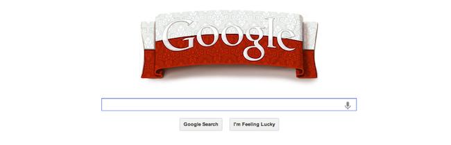 Dziś Google w biało-czerwonych barwach!