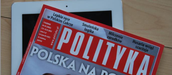 """Ewa Lalik w tygodniku """"Polityka"""" o Windowsie 8!"""