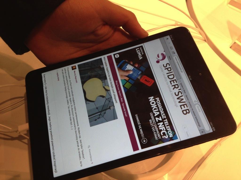 Mieliśmy w rękach iPada mini – nasze pierwsze wrażenia