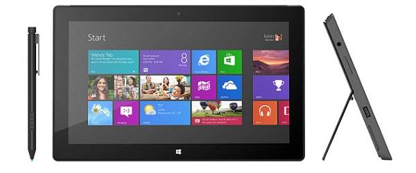 Znamy już ceny i datę premiery tabletu Microsoft Surface Pro z Windows 8
