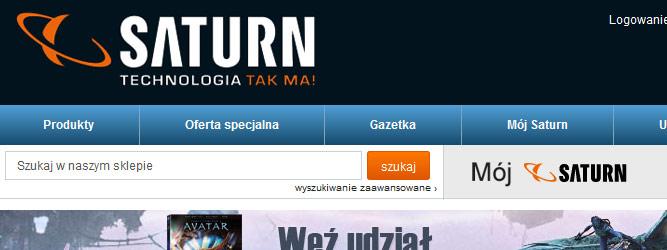 Saturn uruchamia swój sklep internetowy. Spóźniony, ale porządny