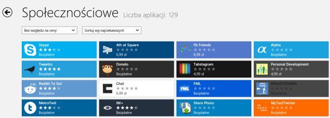 Prawie 13 000 aplikacji w sklepie Windows. Jak to odbierać?