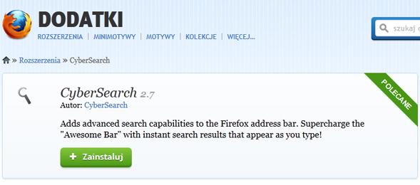 Z CyberSearch szybko i skutecznie przeszukasz wybrane witryny, blogi i fora