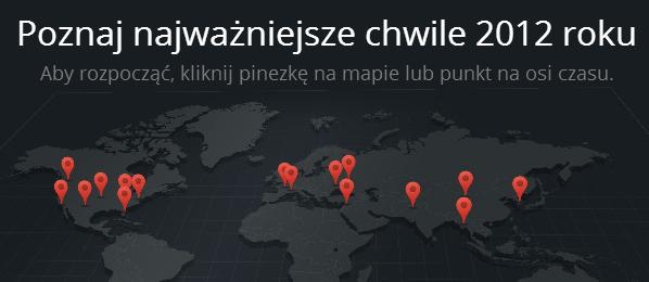 Czego szukaliśmy w sieci? Rozrywka górą – Google Zeitgeist 2012