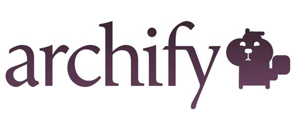 archify  – startup oferujący prywatne archiwum internetowe