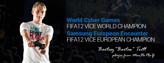 """Bartosz """"Bartas"""" Tritt – wicemistrz świata w FIFA 12: """"(…) czy to naprawdę do końca zabawa dla dzieci?"""""""