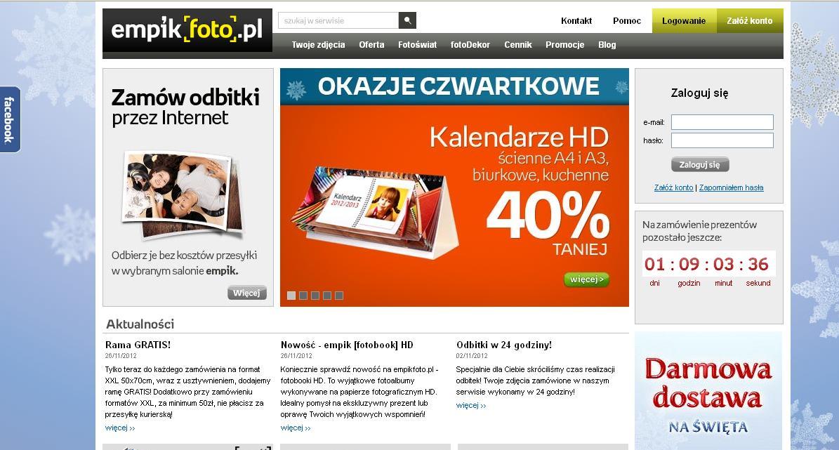 Kalendarz HD? Nic prostszego (na przykładzie empikfoto.pl)