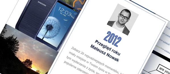 Facebook przygotował Twoje prywatne podsumowanie roku