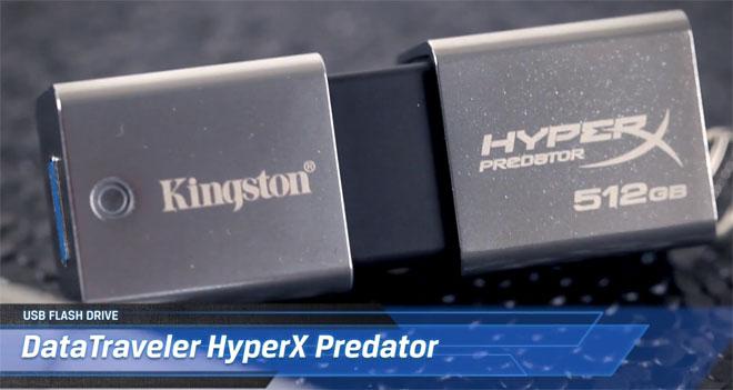 Kingston stworzył pendrive'a 512 GB, niedługo model 1 TB. Cena powala, ale są tańsze alternatywy