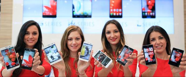 MWC 2013: Nowe smartfony i ambitne plany LG na 2013 rok